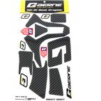 Carbon SG-12 Boot Sticker Kit - T5120-071
