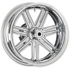 Chrome  7 Valve 17x6.25 Forged Aluminum Rear Wheel (ABS) - 10302-201-6501