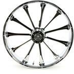 Front 21 in. x 3.5 in. One-Piece Exile Forged Aluminum Wheel w/ABS - 21350-9031A-122