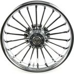 Rear 18 in.  x 5.5 in. One-Piece Illusion Forged Aluminum Wheel w/ABS - 18550-9210A-126