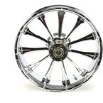 Rear 18 in.  x 5.5 in. One-Piece Exile Forged Aluminum Wheel w/ABS - 18550-9210A-122