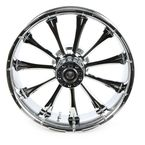 Rear 18 in.  x 5.5 in. One-Piece Exile Forged Aluminum Wheel w/o ABS - 18550-9210-122C