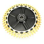 Rear Cush Drive Chain Gold 51 Tooth Sprocket w/Black Carrier - 9CC51-12