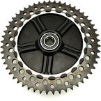 Rear Cush Drive Chain Machined 51 Tooth Sprocket w/Black Carrier - 9CC53-11