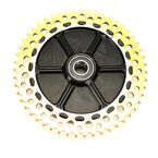 Black/Gold Universal 51 Tooth Chain Drive Cush Conversion System - UCC51-12