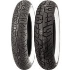 Rear Cruisemax Cruiser 150/80H-16 Wide White Sidewall Tire - 3341-80