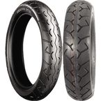 Rear G702 170/80S-15 Blackwall Tire - 001692