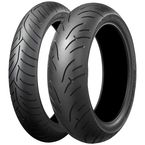 Rear Battlax BT-023 180/55ZR/17 Blackwall Tire - 001280