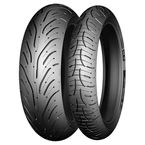 Front Pilot Road 4 GT 120/70ZR-18 Blackwall Tire - 49243