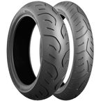 Front Battlax T30 EVO 110/80ZR-19 Blackwall Tire - 544829