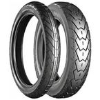 Front G525 Exedra 110/90-18 Raised Black LetterTire - 004774