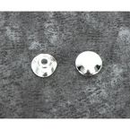 Chrome Plugs for Handlebar Clamps- 2pk - DS-290605