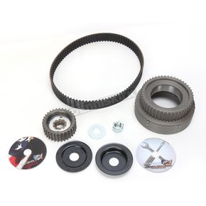 Belt Drives LTD 11mm 1 1/2in. Belt Drive Kit for Kick Start Models 36-54 w/Taper Shaft - 47-31TK-1