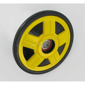 Parts Unlimited Yellow Idler Wheel w/Bearing - 4702-0081