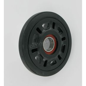Parts Unlimited Black Idler Wheel w/Bearing - 4702-0088