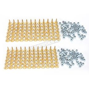 Woodys Gold Digger Traction Master 1.476 in. Long Carbide Studs  - GDP6-1075-C