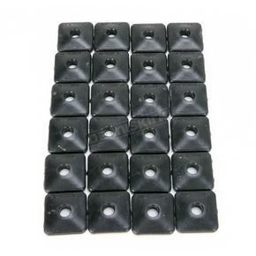 Fast-Trac Air Lite Square Black Backer Plates for 5/16 in. Studs - 200SX-24