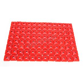 Fast-Trac Air Lite Square Red Backer Plates for 5/16 in. Studs - 205SR-96