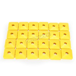 Fast-Trac Air Lite Square Yellow Backer Plates for 5/16 in. Studs - 207SY-24