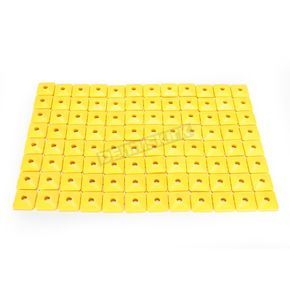 Fast-Trac Air Lite Square Yellow Backer Plates for 5/16 in. Studs - 207SY-96
