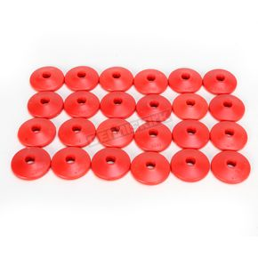 Fast-Trac Air Lite Round Red Backer Plates for 5/16 in. Studs - 213RR-24