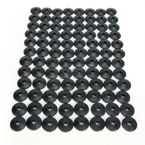 Fast-Trac Air Lite Round Black Backer Plates for 5/16 in. Studs - 208RX-96