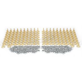 Woodys Gold Digger Traction Master 1.598 in. Long Carbide Studs  - GDP6-1175-C
