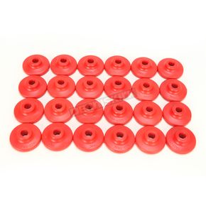 Fast-Trac Round XL Red Air Lite Backer Plates for 5/16 in. Studs - 605RR-24