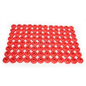 Fast-Trac Round XL Red Air Lite Backer Plates for 5/16 in. Studs - 605RR-96