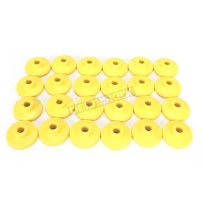 Fast-Trac Round XL Yellow Air Lite Backer Plates for 5/16 in. Studs - 607RY-24