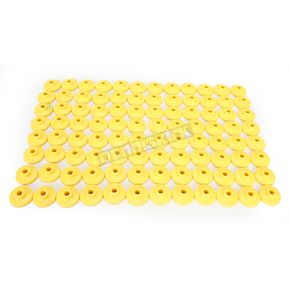 Fast-Trac Round XL Yellow Air Lite Backer Plates for 5/16 in. Studs - 607RY-96