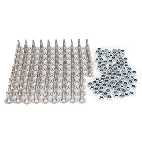 Fast-Trac Triple X-Series 1.375 in. Long Trail Studs - 801-96