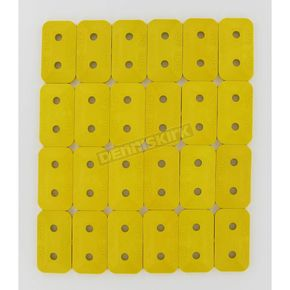 Stud Boy Super Lite +Plus Double Yellow Backing Plates - 2463-P1-YEL