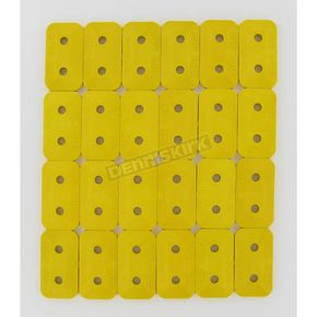 Stud Boy Super Lite Double Backing Plates - 2461P1YEL
