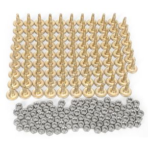Woodys Gold Digger Traction Master 1.256 in. Long Carbide Studs - GDP6-8755-B