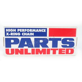 Parts Unlimited 530 X-Ring High Performance Drive Chain - 1223-0396