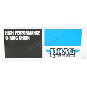 Drag Specialties Chrome Finish 530 Series O-Ring Chain - 1222-0266