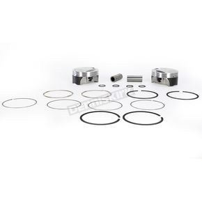 KB Performance Forged Piston Kit - 3.875 in. Bore - KB660C-STD