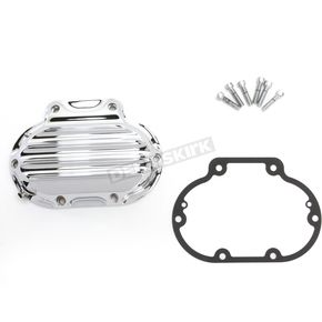 Roland Sands Design Chrome Nostalgia Hydraulic Actuated Transmission Cover - 0177-2046-CH