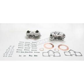 S&S Cycle Hi-compression Style Cylinder Heads for 3-5/8 in. Bore Shovelhead Cylinders - 90-1491