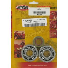 Hot Rods Main Bearing and Seal Kit - K020
