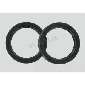 Parts Unlimited Fork Seals - 41.7mm x 55mm x 10mm - 0407-0128