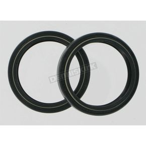 Parts Unlimited Fork Seals for White Power 43mm Fork Tubes 03-06 - 43mm x 52mm x 9.5mm - 0407-0132