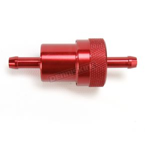 Russell 1/4 in. Inlet Red Alloy Gas Filter  - R45010