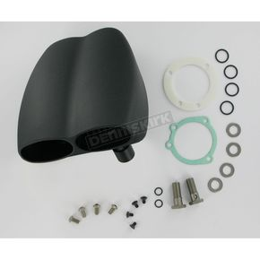 Cycle Visions Mo-Flow Black Billet Air Cleaner for Models w/CV Carb, Delphi Fuel-Injected or Mikuni Carbs - CV-9003B