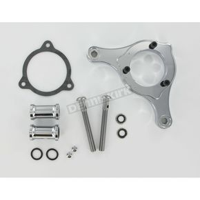 D & M Custom Cycle Carb Support Bracket and Breather Kit  - DM-37
