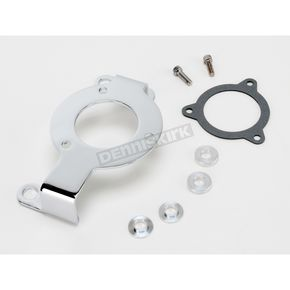 Parts Unlimited Chrome Air Cleaner Support Bracket - 1013-0035