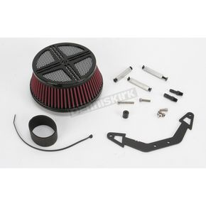 Baron Custom Accessories Black XXX Air Cleaner Assembly - BA-2320-00B