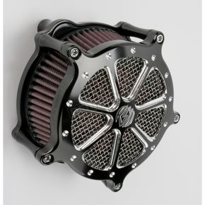 Roland Sands Design Platinum Cut Venturi Speed 7 Air Cleaner - 0206-2005-BMP