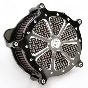 Roland Sands Design Platinum Cut Venturi Speed 7 Air Cleaner - 0206-2018-BMP